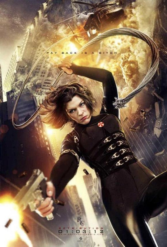 Resident Evil Retribution Poster 2012