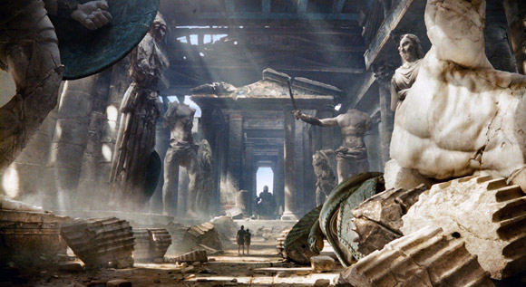 Wrath Of Titans Impressive Production Design