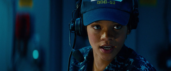 Rhianna in Battleship 2012