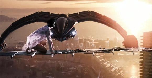 Futuristic scenes from Cloud Atlas 2012 Trailer