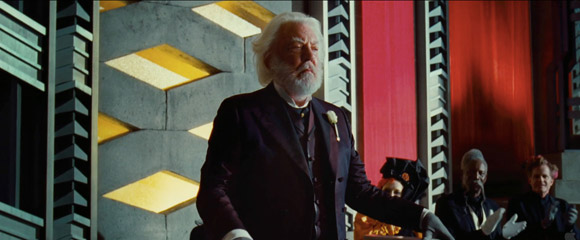 Donald Sutherland President Snow The Hunger Games