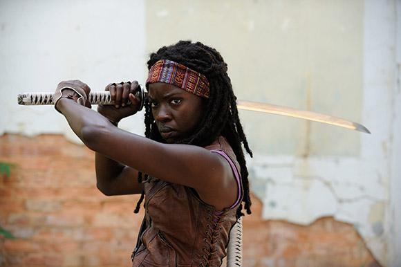 Danai Michonne joins the Walking Dead for Season 3
