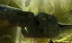 Nicolas Ferrand Amazing Sci-Fi Concept Artist
