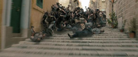 World War Z Official Trailer First Uk World War Z Trailer