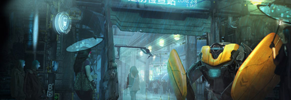 The Sci-Fi Concept Art of Adam Kuczek