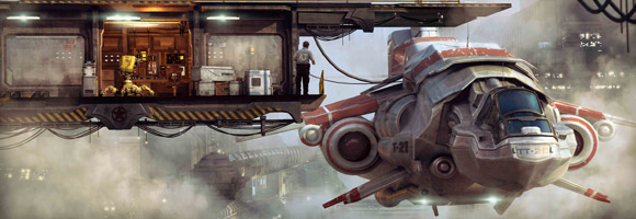 The Sci-Fi Art of Stefan Morrell