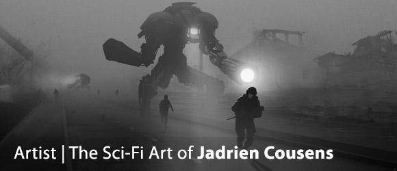 The Sci-Fi Art of Jadrien Cousens