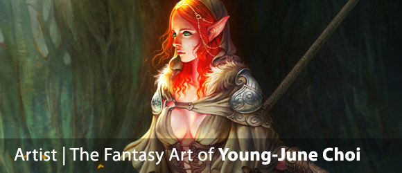 The Fantasy Art of Young-June Choi