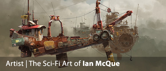 The Sci-Fi Art of Ian McQue