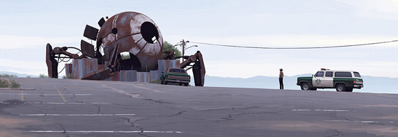 The Sci-Fi Paintings of Simon Stålenhag