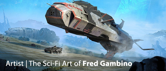 The Superb Sci-Fi Art of Fred Gambino