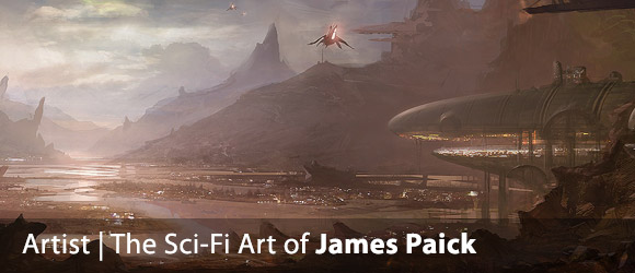 The Sci-Fi Art of James Paick