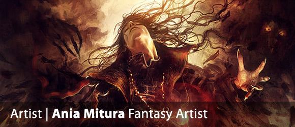 Ania Mitura Digital Fantasy Artist