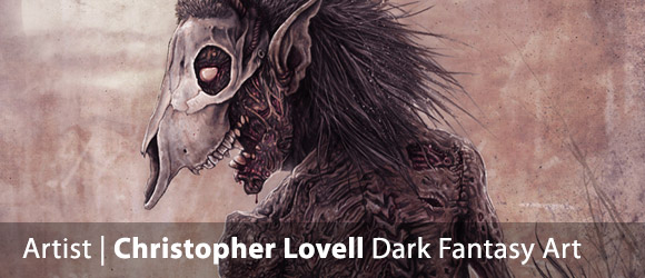 Christopher Lovell Dark Fantasy Illustrator