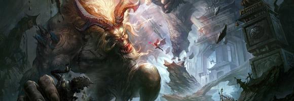 The Digital Fantasy Art of Crow God