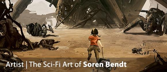 The Sci-Fi Art of Soren Bendt