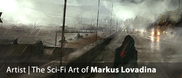 The Atmospheric Art of Markus Lovadina