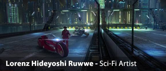 Lorenz Hideyoshi Ruwwe – Sci-Fi Artist