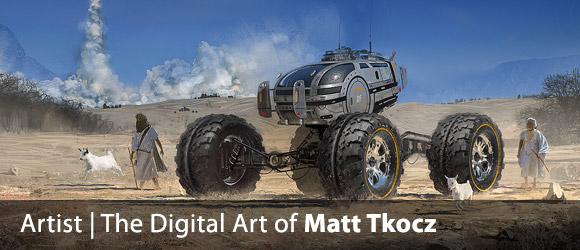 Matt Tkocz – Digital Sci-Fi Artist