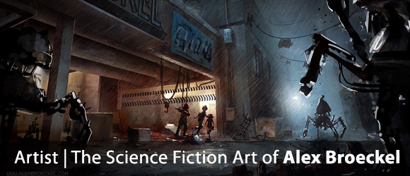The Science Fiction Art of Alex Broeckel