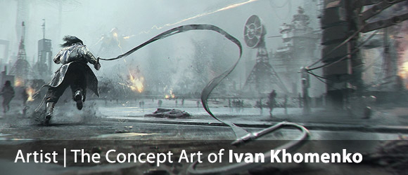 The Concept Art of Ivan Khomenko