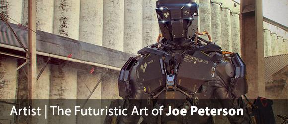 The Futuristic Concept Art of Joe Peterson
