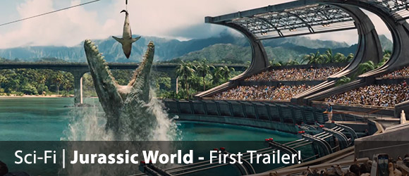 The first trailer for Jurassic World (2015)