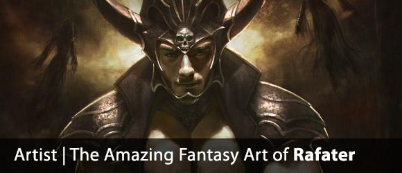 The Amazing Fantasy Art of Rafater