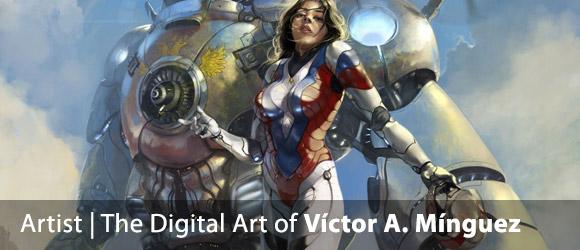 The Digital Art of Víctor A. Mínguez