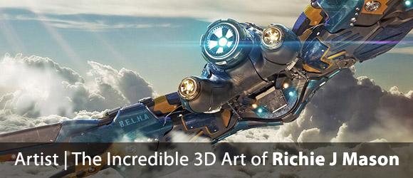 The Art of Richie J Mason