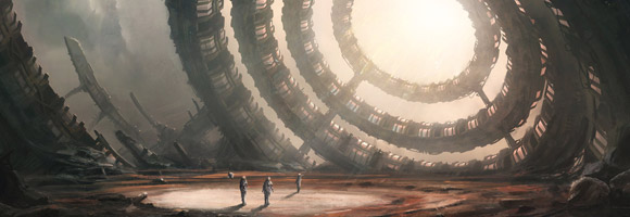 The Sci-Fi Art of Leon Tukker