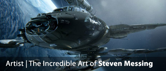 The Incredible Sci-Fi Art of Steven Messing