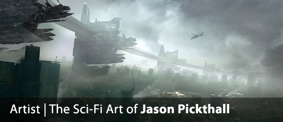 The Sci-Fi Concept Art of Jason Pickthall