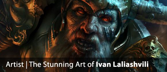 The Stunning Art of Ivan Laliashvili