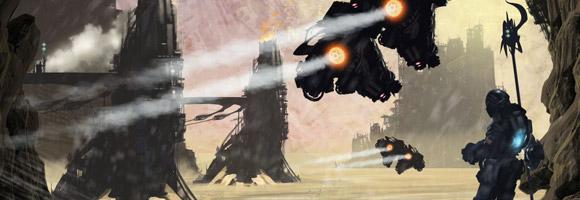 The Digital Sci-Fi Art of Darren Lewis