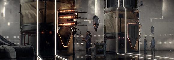 Simon Fetscher Sci-Fi Artist