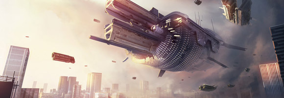 The Futuristic Concept Art of Daniel Joustra