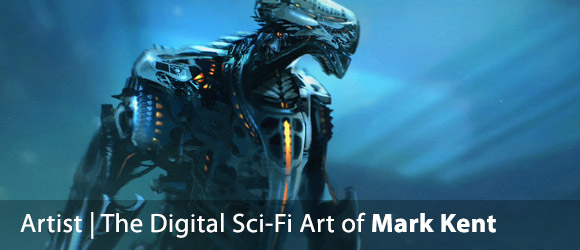 The Digital Sci-Fi Art of Mark Kent