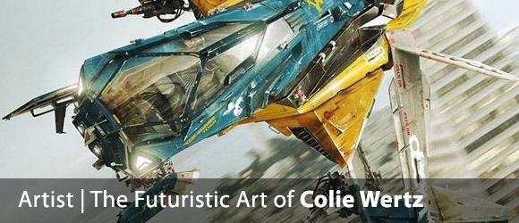 The Futuristic Art of Colie Wertz