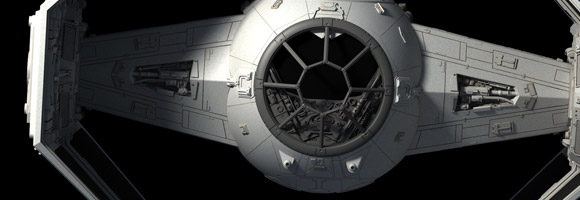 Incredible Star Wars Models by Fractalsponge!