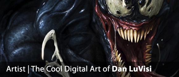 The Super Cool Digital Art of Dan LuVisi