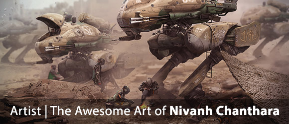 Fantastic New Works from Nivanh Chanthara