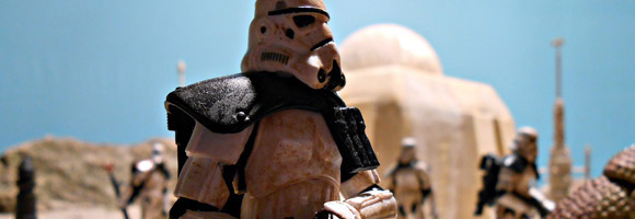 Cinematic Star Wars Figures by Beru Whitesun