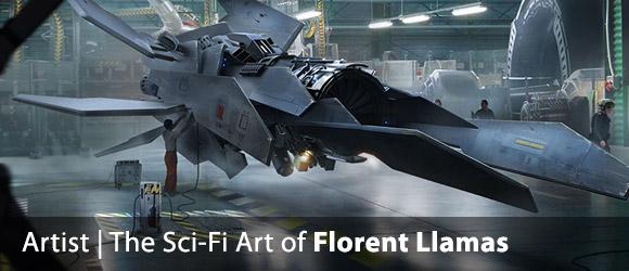 The Sci-Fi Art of Florent Llamas