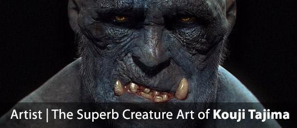 The Creature Creations of Kouji Tajima