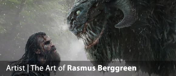 The Atmospheric Fantasy Art of Rasmus Berggreen