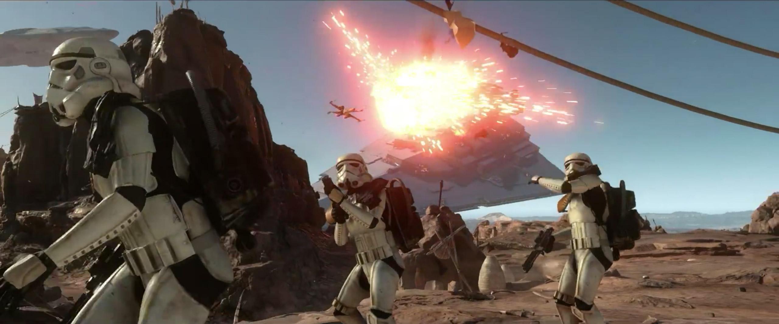 Star Wars Stormtroopers Fantasy Art Artwork Bwing Down: Star Wars Battlefront Gameplay Videos
