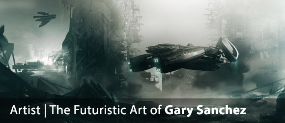 The amazing futuristic creations of Gary Sanchez
