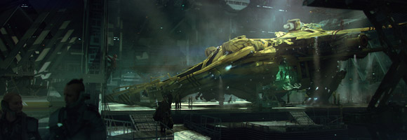The Mind Blowing Sci-Fi Art of Brad Wright