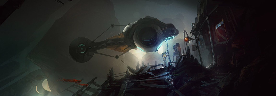 The Amazing Sci-Fi Creations of Sylvain Coutouly